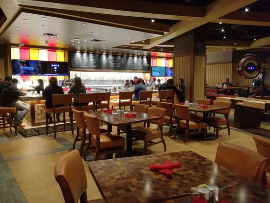 Mescalero, Nuevo Mexico: dining room