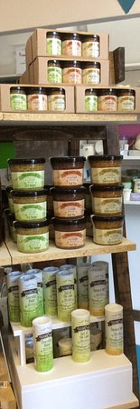 Vernon, Canada: German styled mustards, salted herbs