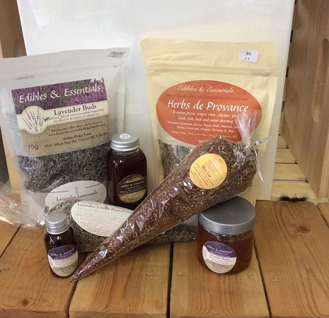 Vernon, Kanada: Edible lavender products, only in the Okanagan