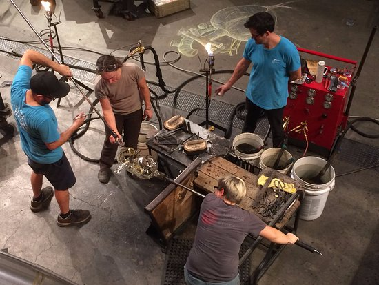 Tacoma, WA: Artist in Residence in the Hot Shop!