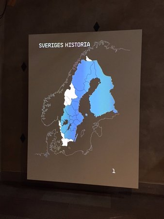 early map of Sweden Picture of The Swedish History Museum
