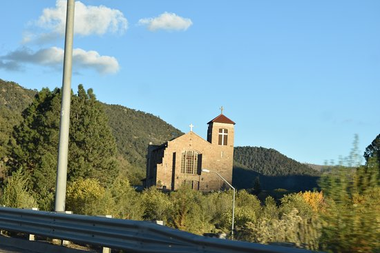 Mescalero, NM: road view