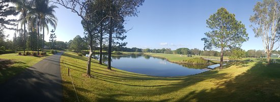Benowa, Australia: The golf course