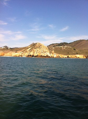 Avila Beach, Kaliforniya: There is some interesting views from the water.