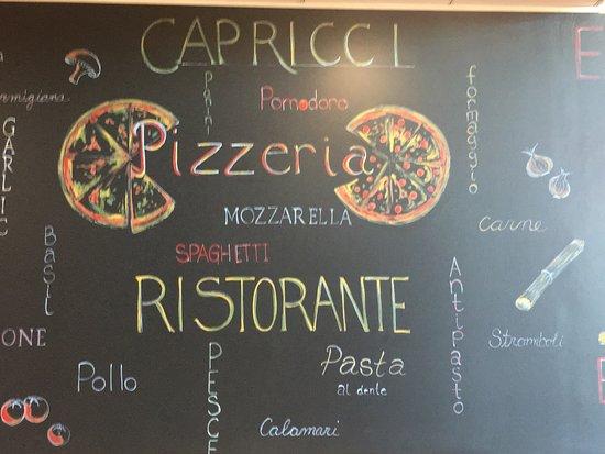 Capricci Pizza: Come visit Capricci Pizzeria and Ristorante
