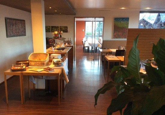 Hotel Restaurant Mohren: Angenehme Atmosphäre