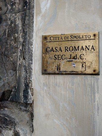 Spoleto, Italy: Casa Romana di Vespaia Polla