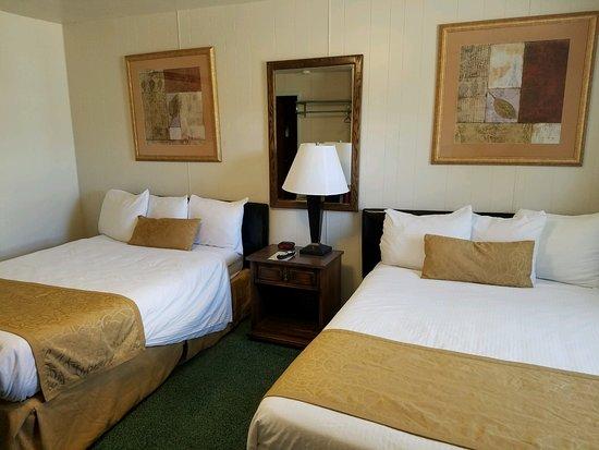Havre, MT: Room #6 2 Double Beds