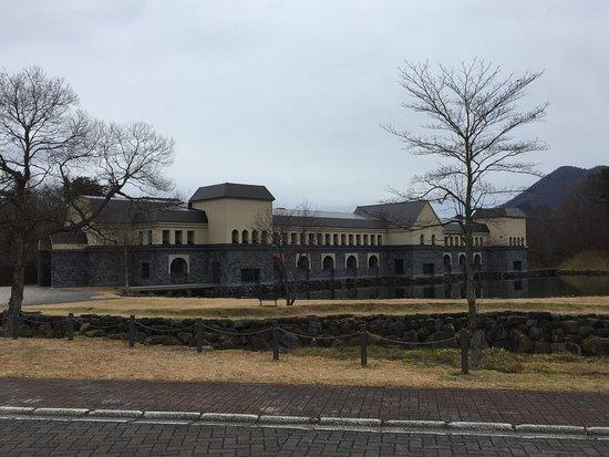Kitashiobara-mura, Japon : 裏磐梯の山懐に重厚な建物が