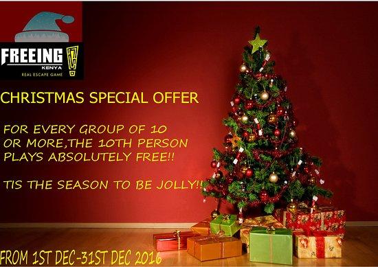 Christmas offer - Picture of Freeing Kenya, Nairobi - TripAdvisor