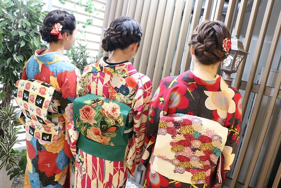 Kyoto Kimono Rental Wargo, Tokyo Sensoji