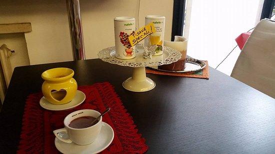 Legnago, Italy: Le nostre tisane con coccola di aromaterapia
