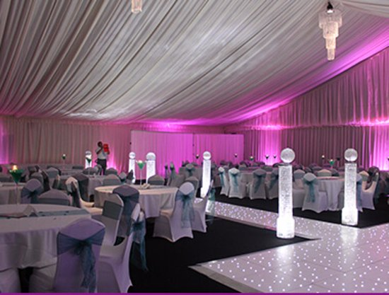 Coventry, UK: Our Grand Marquee