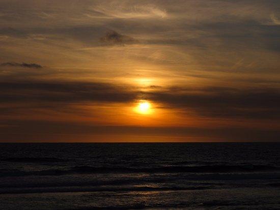 Prevelly, Australia: Sun going down
