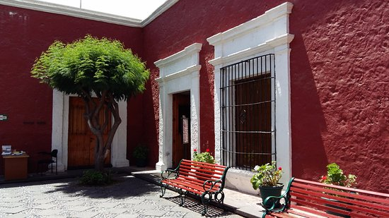 Museo Santuarios Andinos: The courtyard of the museum