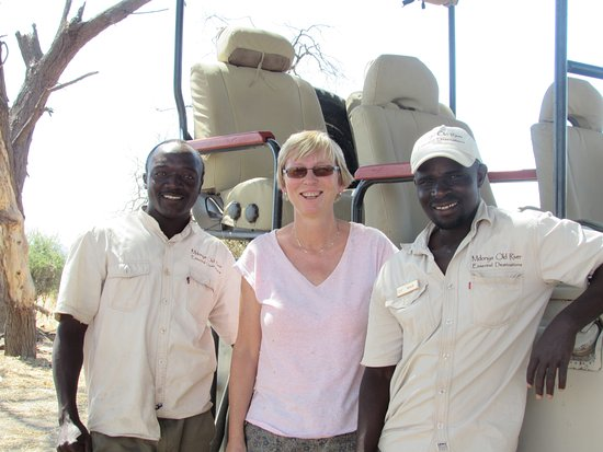 Ruaha National Park, Tanzania: Heny, me and Ayoub - Thanks guys for a great safari