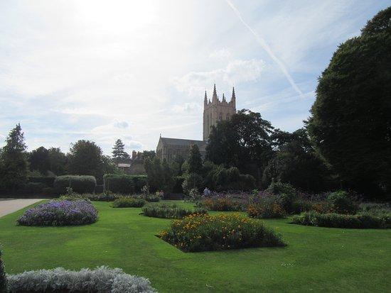 Bury St Edmunds, UK: Abbey Gardens