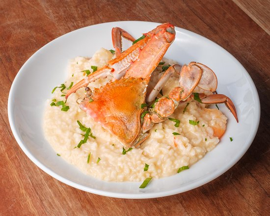 Coogee, Australia: Crab and Prawns Risotto