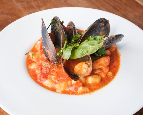 Coogee, Austrália: Seafood Gnocchi