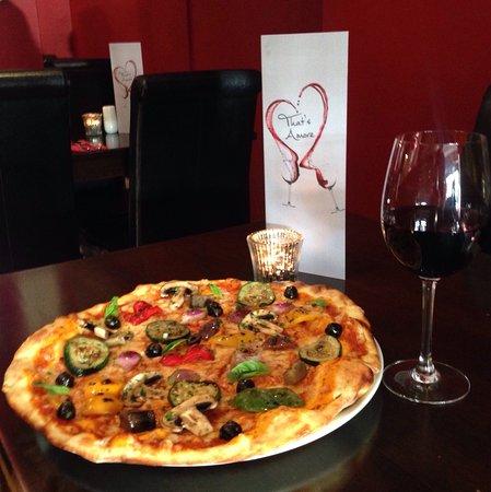 Willerby, UK: Pizza Vegetariana