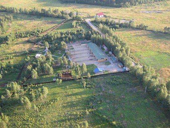 Leningrad Oblast, Russland: С высоты птичьего полета