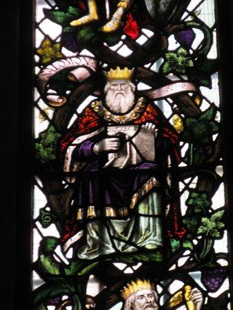 Horringer, UK: Window in church.
