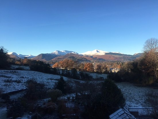 The Lookout Keswick : Views from Room 1