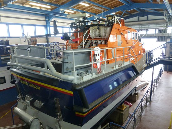 Cromer, UK: A preserved lifeboat