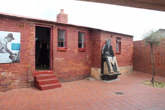 Roodepoort, Sudáfrica: Nelson Mandela House - Soweto