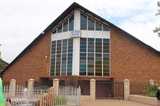 Roodepoort, Sydafrika: Regina Mundi Catholic Church - Soweto