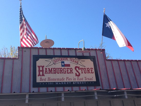 Jefferson, TX: Hamburger Store