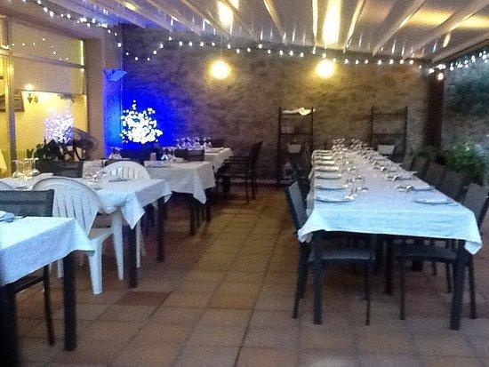 Monistrol de Calders, إسبانيا: Restaurant Rubell