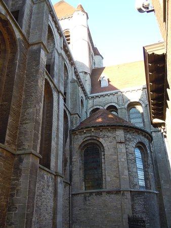 Tournai, Belgia: Latéral de l'église