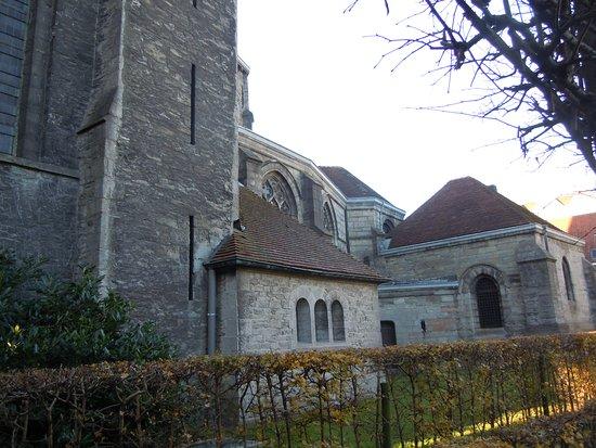 Tournai, Belgium: Arrière de l'église
