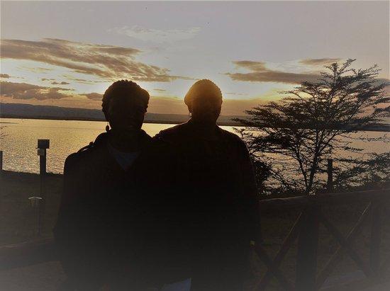 Gilgil, Kenia: Most beautiful sunset
