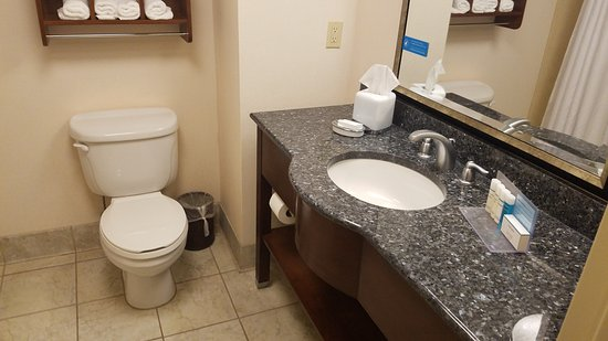 Hampton Inn & Suites Hartford/Farmington: Bathroom