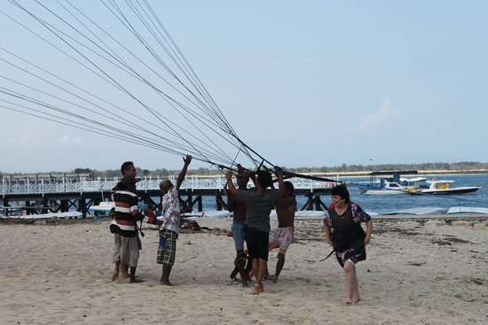 Tanjung Benoa, Endonezya: Удачно приземлились.