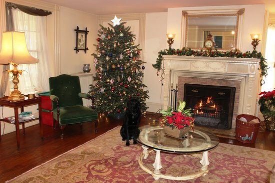 Wainwright Inn: Christmas tree in the parlor