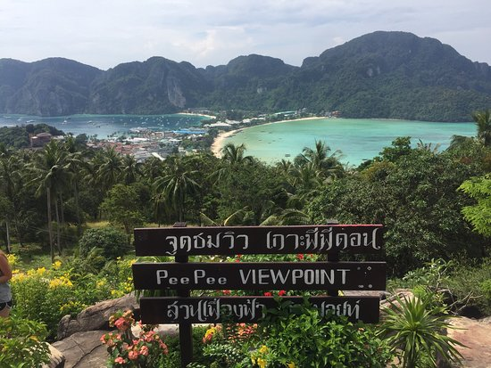 Заката не дождались - Picture of Koh Phi Phi Viewpoint, Ko ...