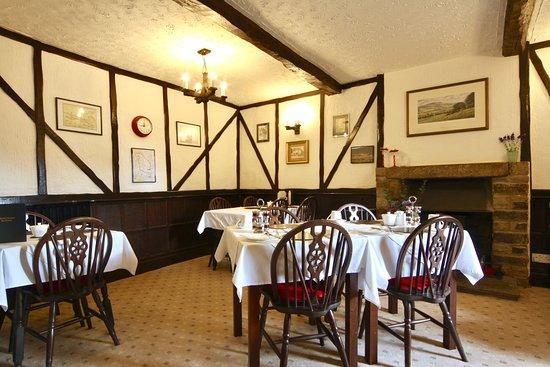 Leyburn, UK: Breakfast Room
