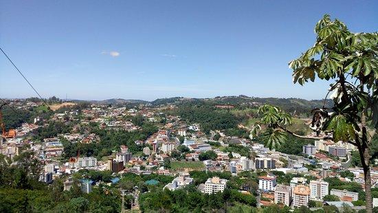 Serra Negra, SP: Vista da cidade...