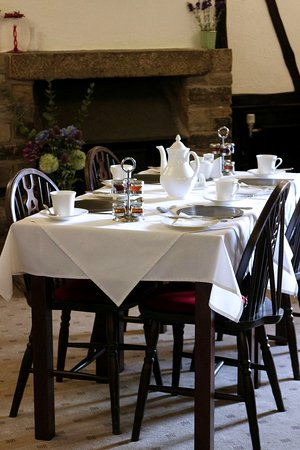 Leyburn, UK: Breakfast Room