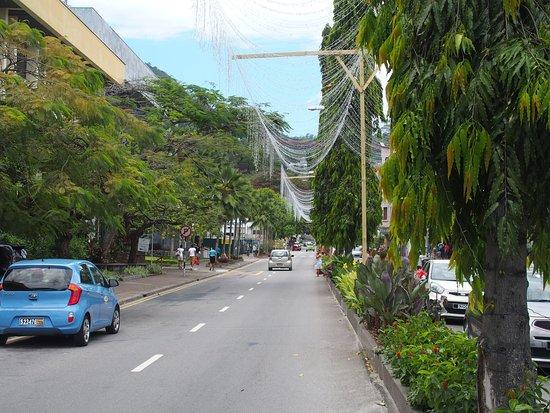 French Cultural Center: Les Champs Elysées Seychellois (déco de Noel)