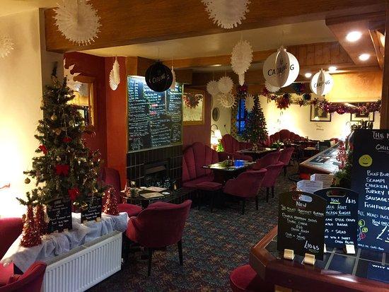 Repton, UK: Christmas