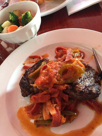 Coburg, Australia: Steak. Fish & chips. Lasagne.