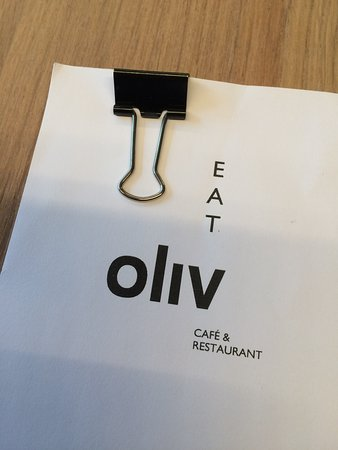 Oliv Cafe: Benvenuti a Oliv Eat