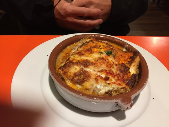 McLean, VA: Meat Lasagna-not big enough for a grown man