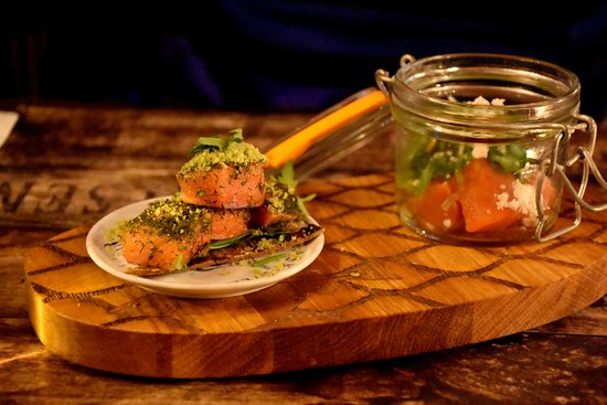 Hofn, Iceland: Smoked trout - two ways