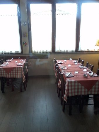 Omegna, Italia: Scorcio della sala pranzo