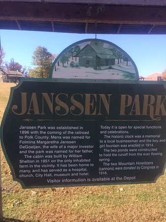 Mena, AR: Janssen Park